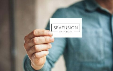 A modern rebrand for Seafusion with custom fonts and art | Newcastle Creative Co