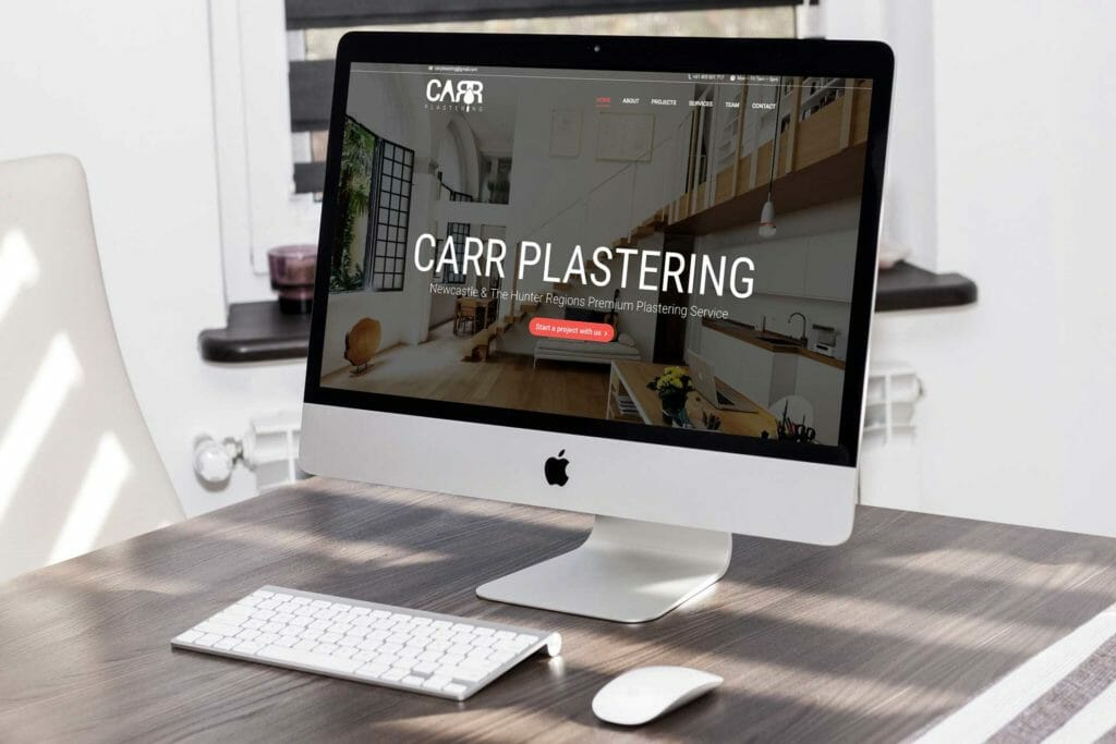 our portfolio of website design is five star | Newcastle Creative Co