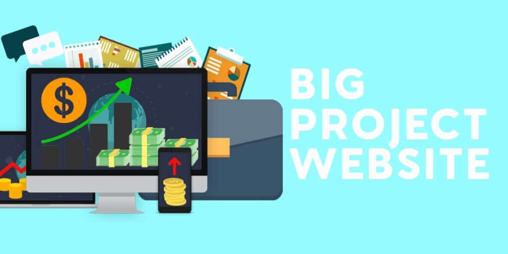 How Much Will A Website Cost You Really? Big Project Website